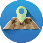 Map Based Technician Tracking Icon